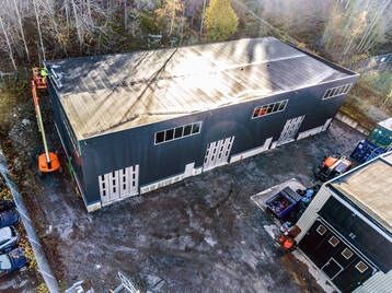 3 st nybyggda verkstads-/lagerlokaler