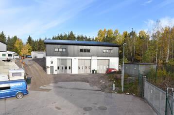 Nybyggd fastighet – Trosa Industriområde