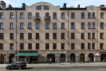 Brf-lokal med A-läge på S:t Eriksgatan