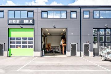Inredd industrilokal om ca 140 kvm