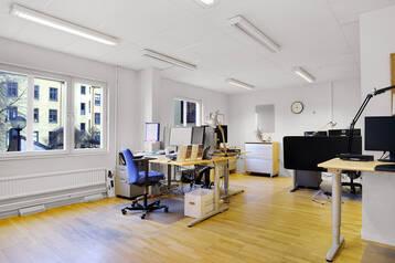 Funktionellt kontor vid Mariatorget