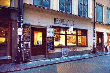 Café på Västerlånggatan