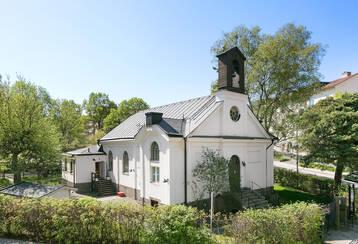Nyrenoverad fd. kyrka från 1800-talet