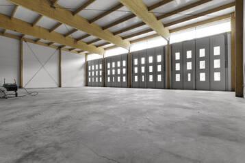 Nybyggd industri-/verkstad-/lagerlokal
