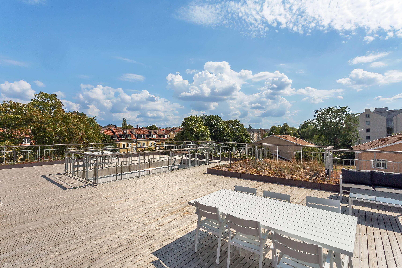Terrass på taket