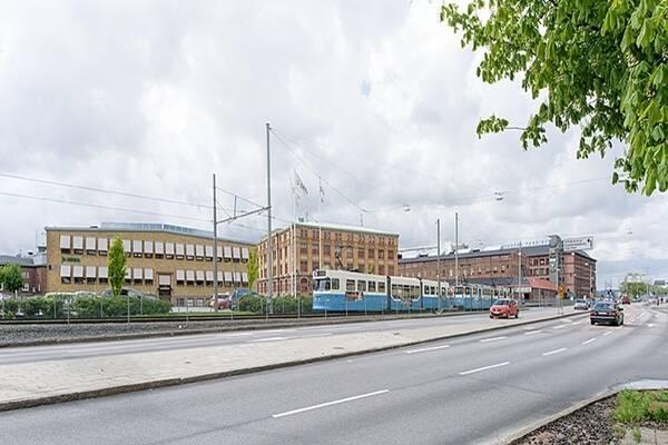 Gamlestadsvägen 2, Göteborg, Lager