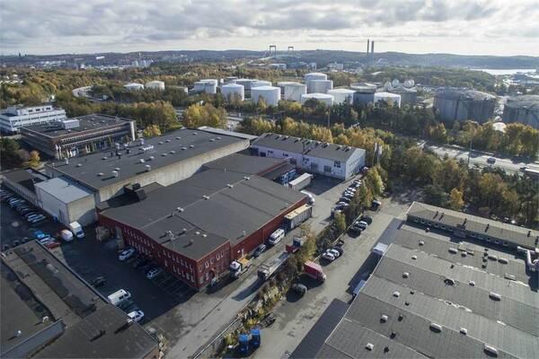 Ruskvädersgatan 18, Göteborg, Lager