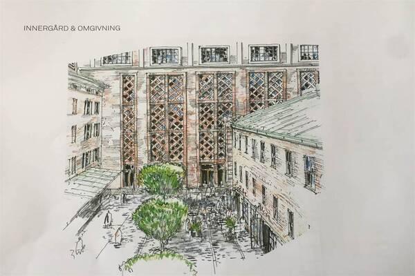 Kämpegatan 6, Göteborg, Kontor
