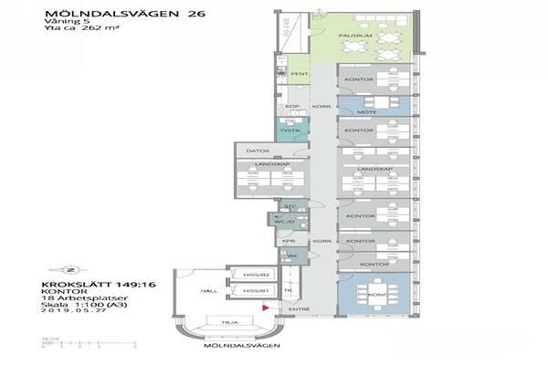 Mölndalsvägen 26, Göteborg, Kontor
