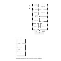 Planlösning - Bostadsbyggnad - Plan 1