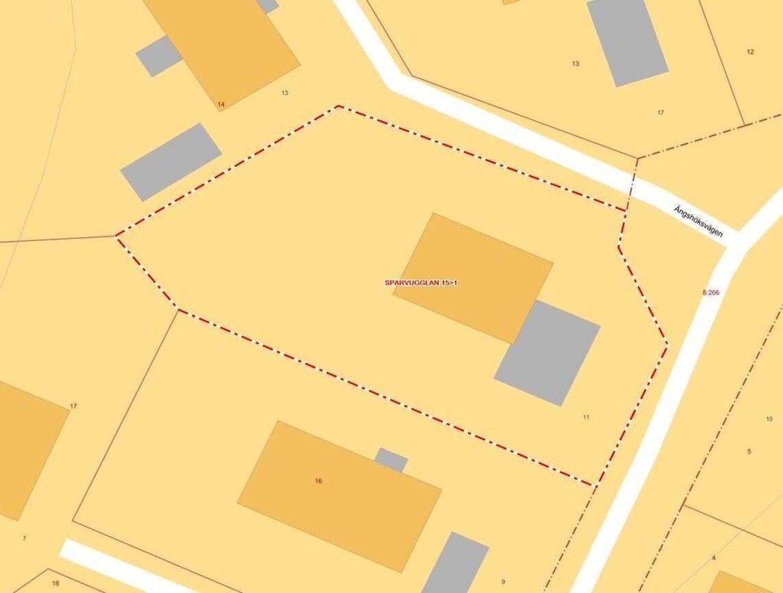 Enfamiljsvilla, Ängshöksvägen 11, Tumba
