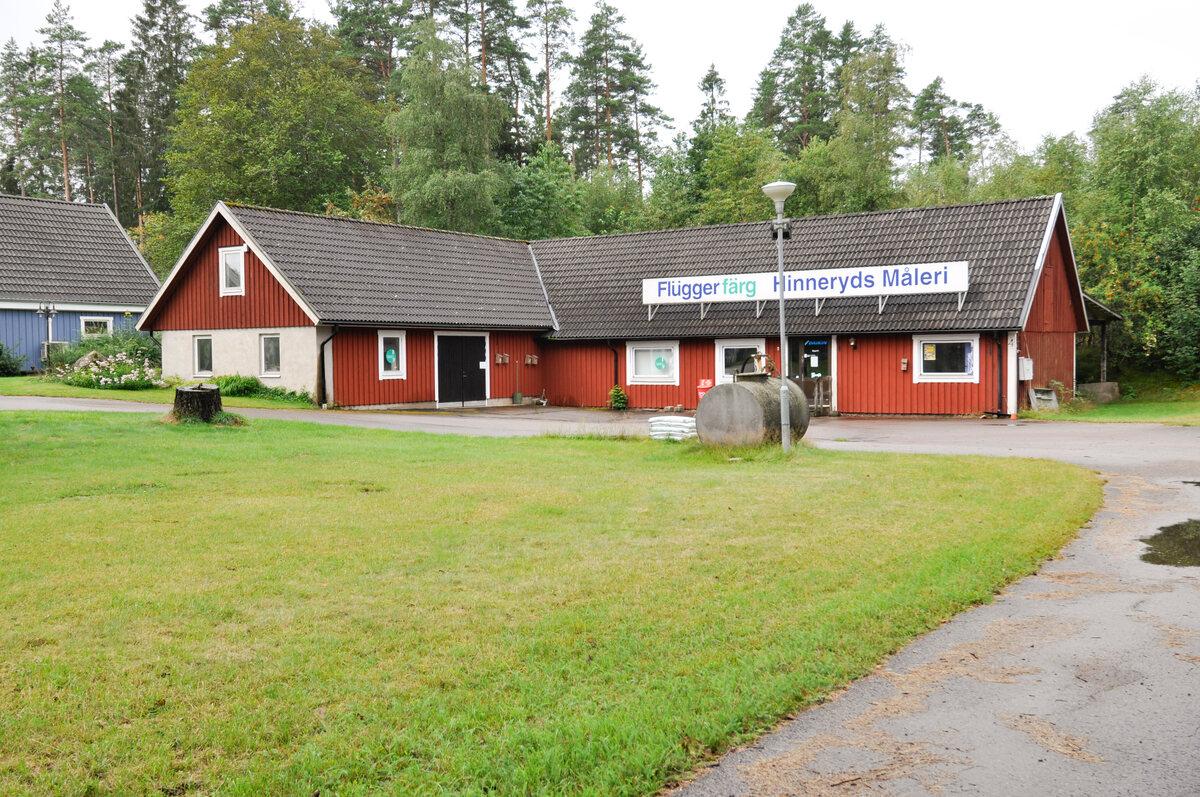 Kommersiell fastighet, butik, Hinneryd Gutmunders väg 4, Strömsnäsbruk