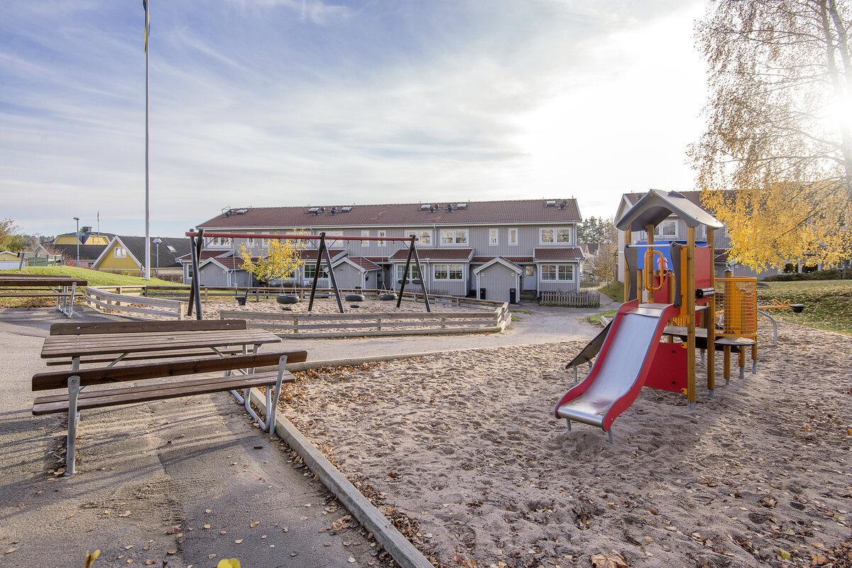 Radhus, Gjutarvägen 101, Kolmården