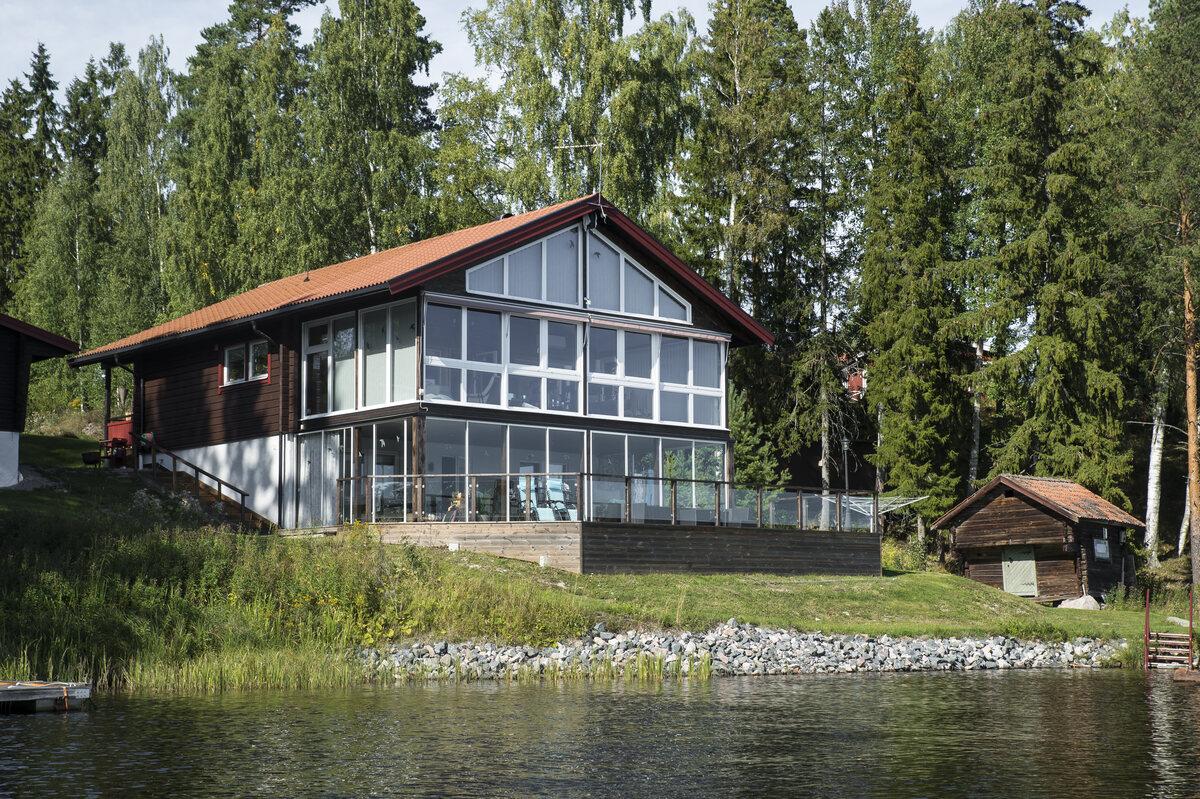Enfamiljsvilla, Finnäset 118, Falun