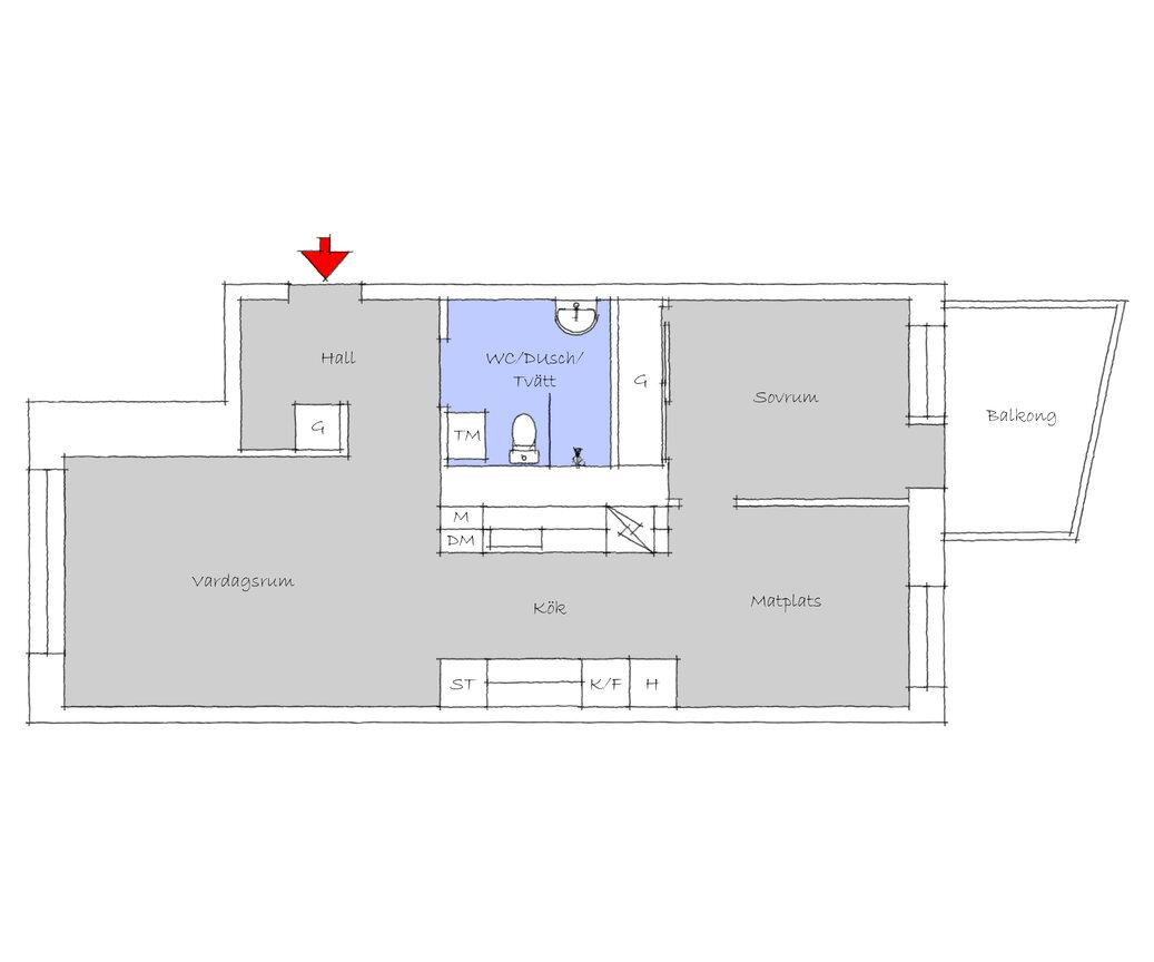 Lägenhet, Svängrumsgatan 77, Västra Frölunda