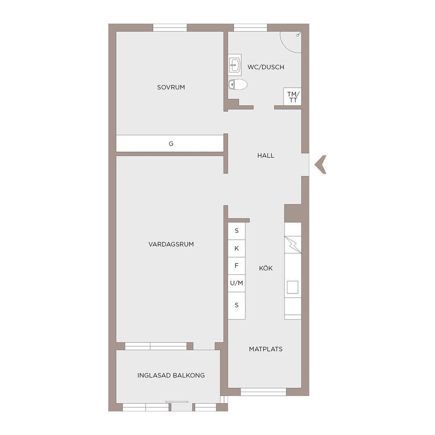 Lägenhet, Solhagagatan 126, Hisings Kärra