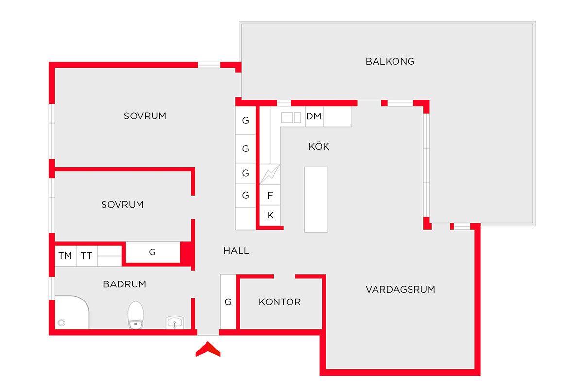 Lägenhet, . Solskensvägen 24, Surte