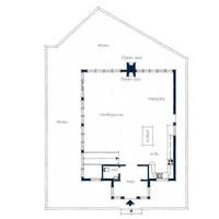 Planlösning huvudbyggnad
