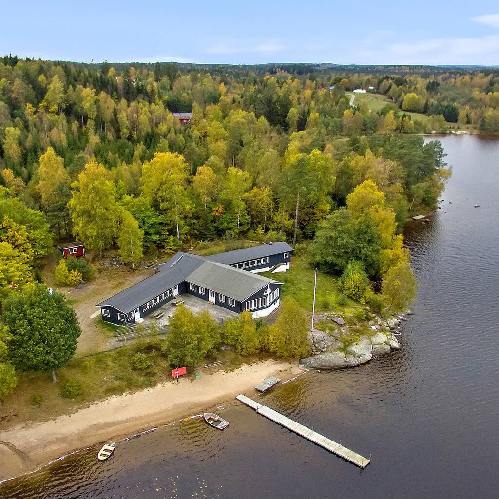 Konferensverksamhet / friluftsanläggning / lägergård vid sjö