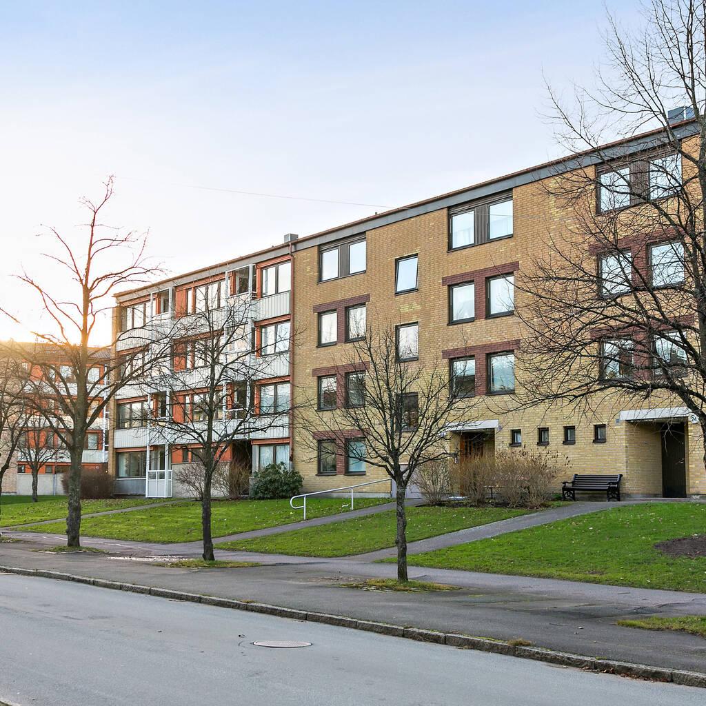 Bra lägenhet i lugnt och skönt område