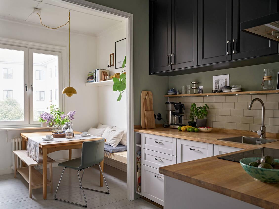 Köket har renoverats löpande mellan 2018 och 2020.