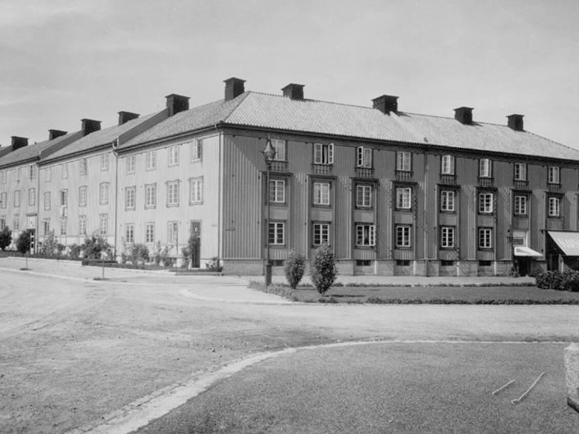 Brf Kärleksörten byggt 1927.