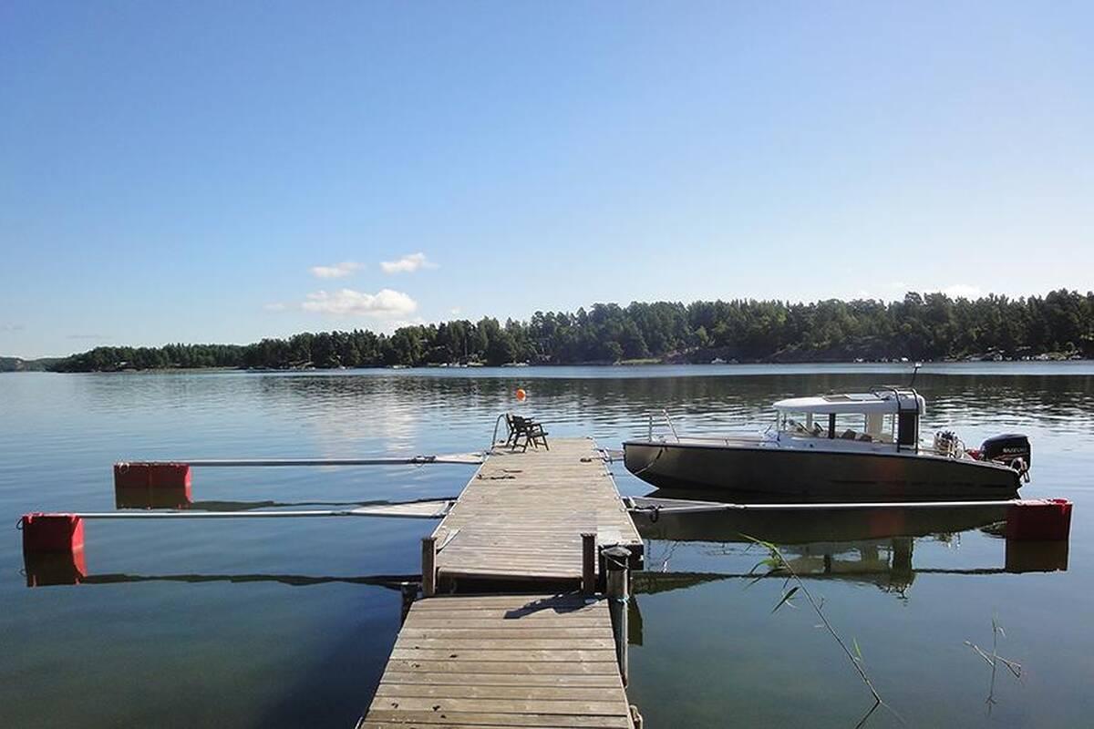 Båtplatser ingår