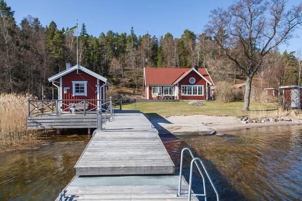 Skärgårdsidyll på Lilla Betsö