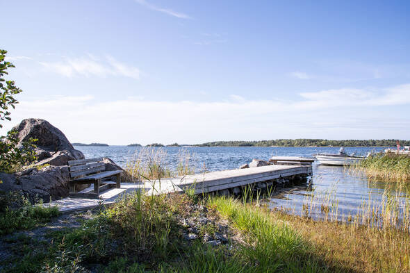 Brygga och båtplats