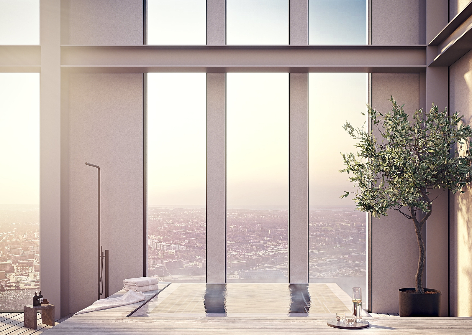 Karlatornet Penthouse 005 - Terrass Pool v5.0001