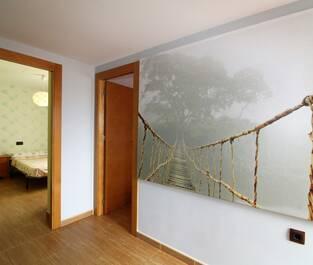 Hallen på övervåningen