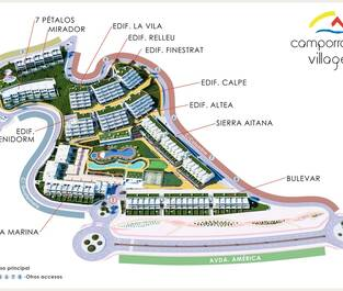 3. MAP Camporrosso Village