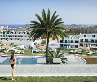 Camporrosso Village View from Gym Terrace