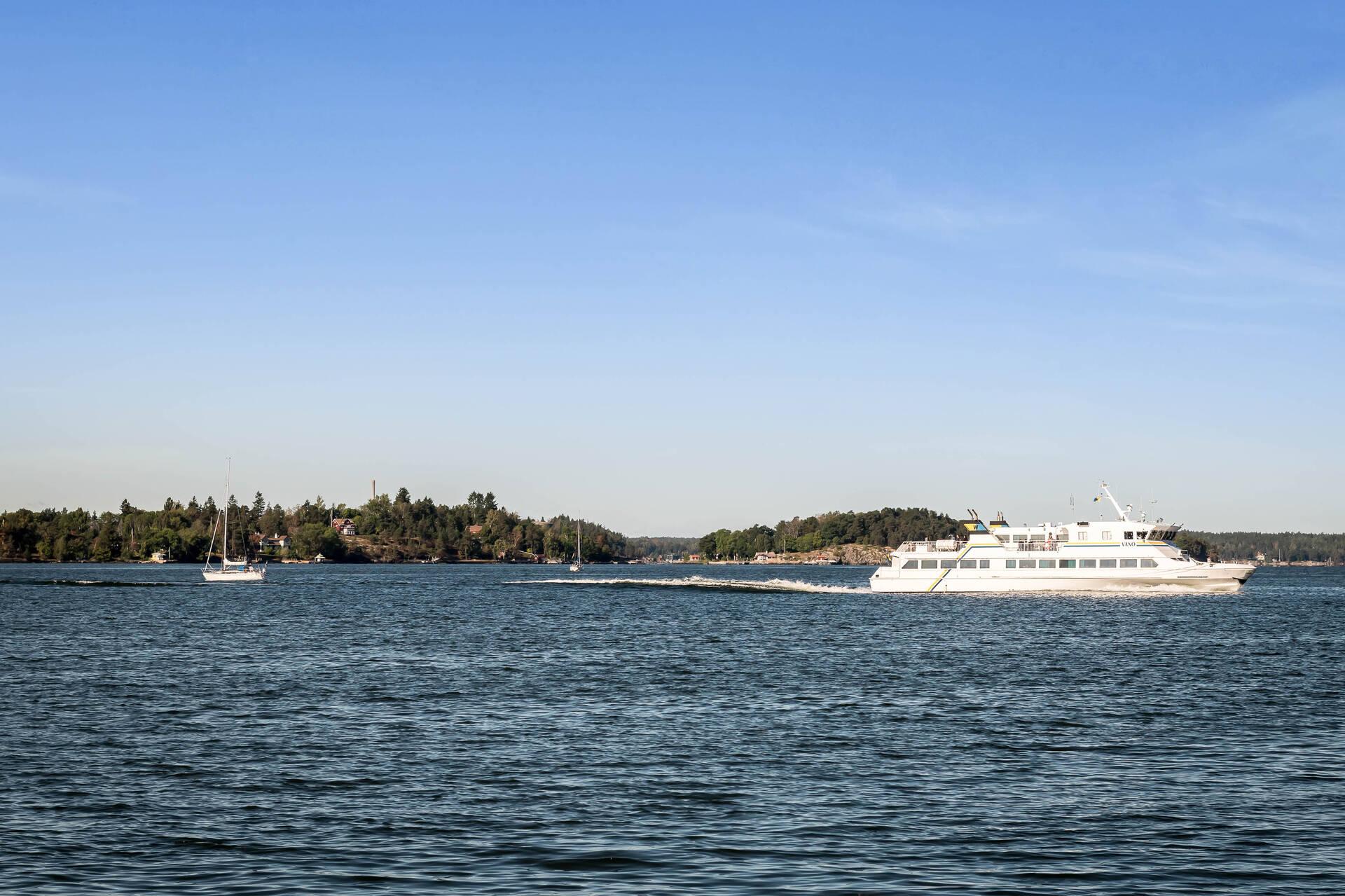 Vy - båt
