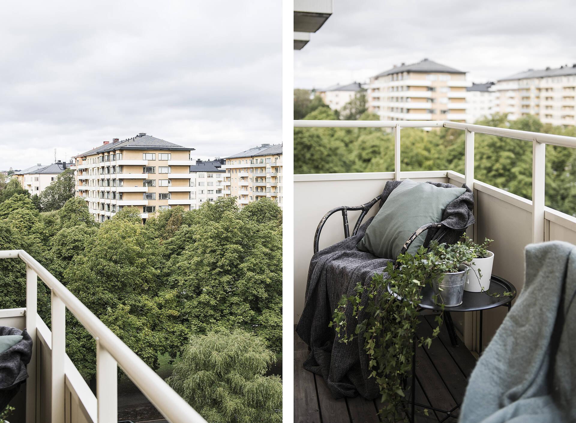 Balkong/utsikt