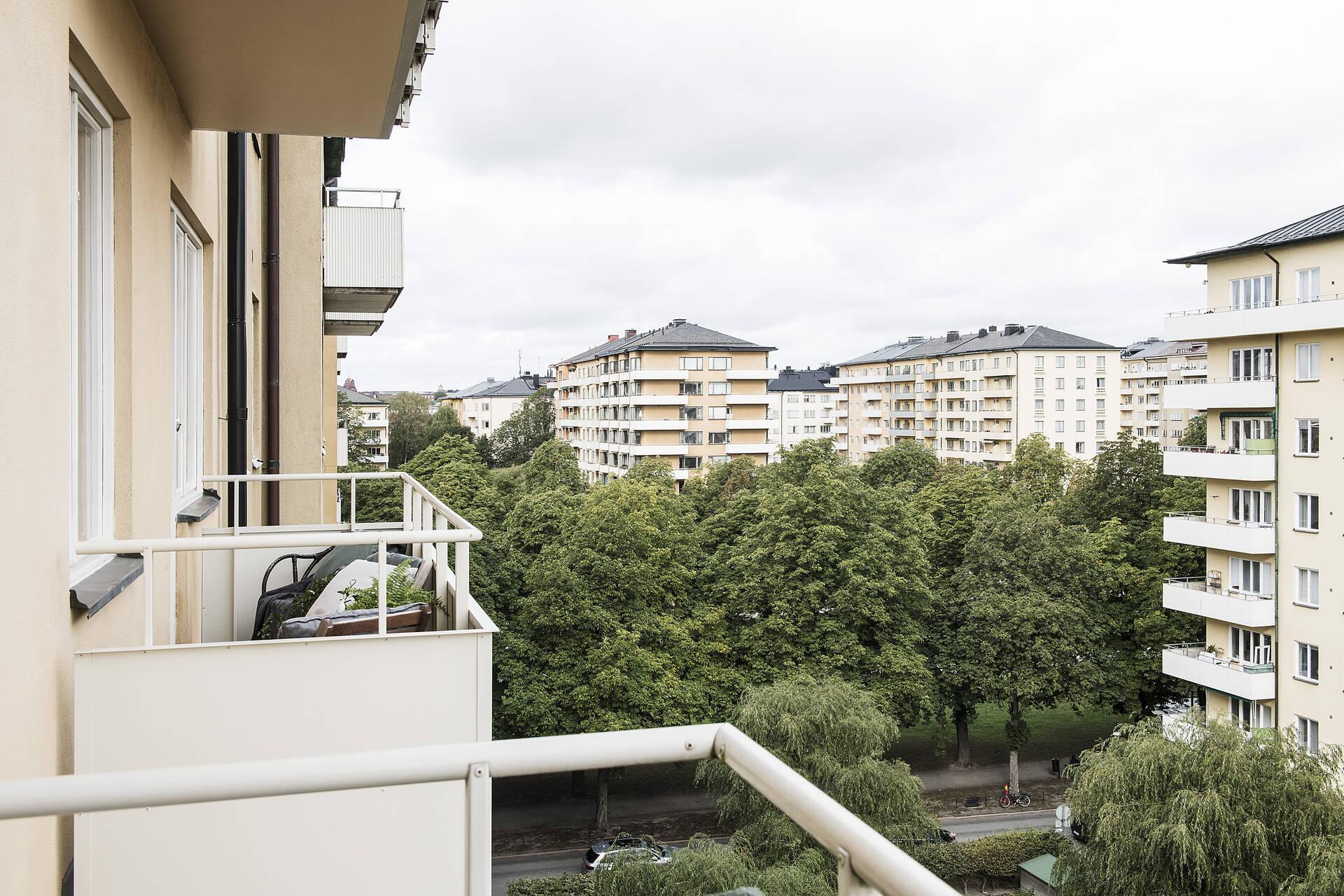 Balkong utsikt