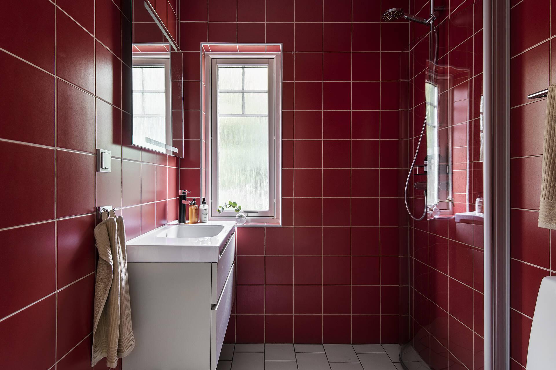 Badrum nedre-  eller övreplan?