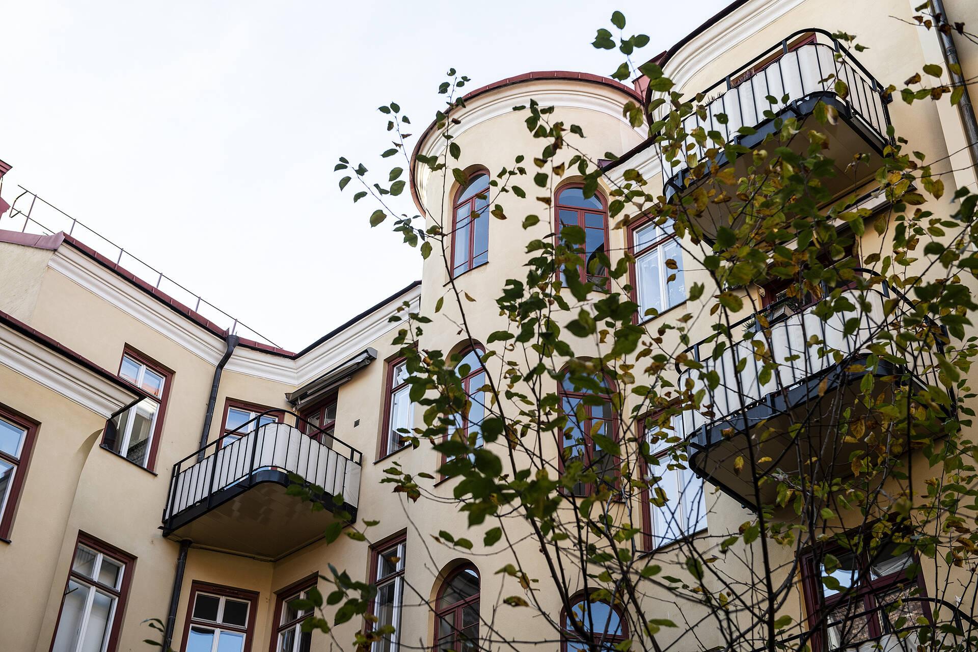 balkong fasad