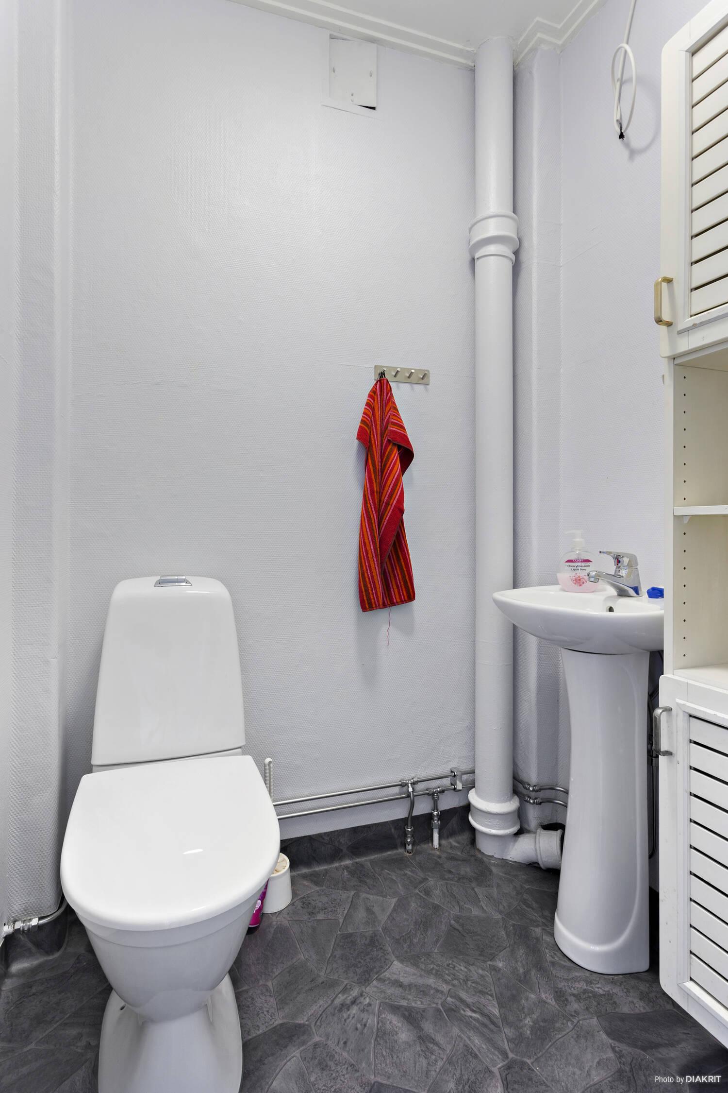 Toalett(Vindsplan)
