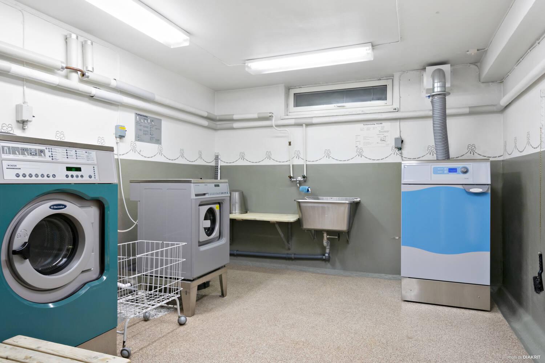 Gemensam tvättstuga i föreningen