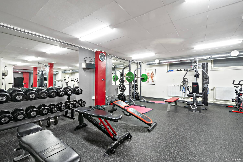 Gemensam gym i föreningen