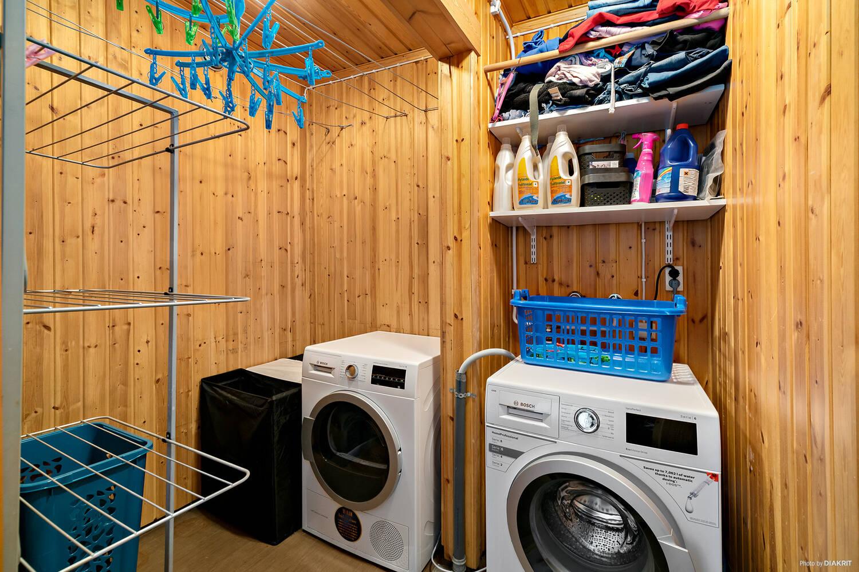 Tvättstuga (f.d. bastu)
