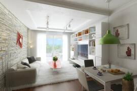 1 sovrums lägenhet i Iskele, Famagustakusten