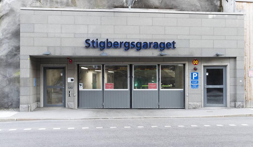 Stigbergsgaraget 200 steg