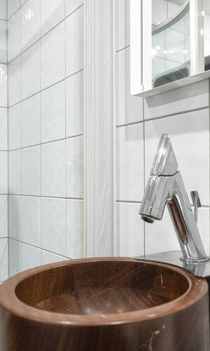 Detalj duschrum entréplan