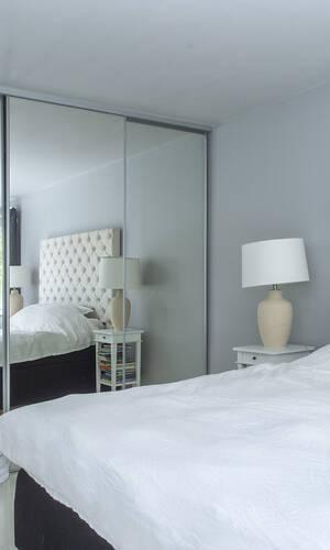 Del av master bedroom