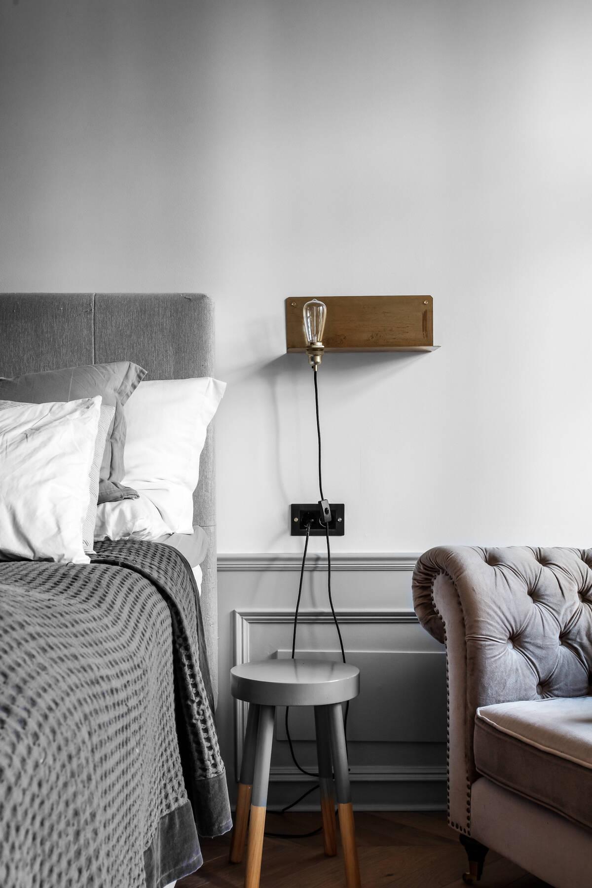 Detalj master bedroom