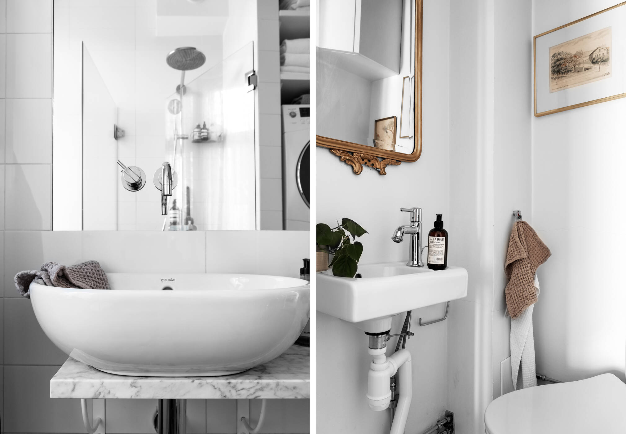 Detalj badrum / gäst-wc