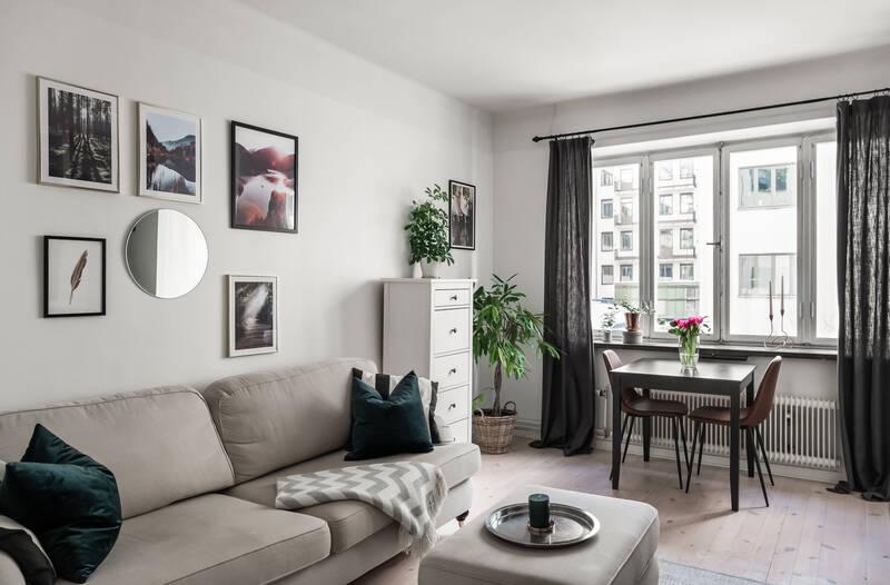 Nestor Fastighetsmäkleri – Celsiusgatan 8 – Välplanerad etta med fullt utrustat kök och badrum förbe