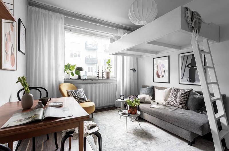 Nestor Fastighetsmäkleri – Tjärhovsgatan 22 – Optimalt planerat boende högt upp i huset.